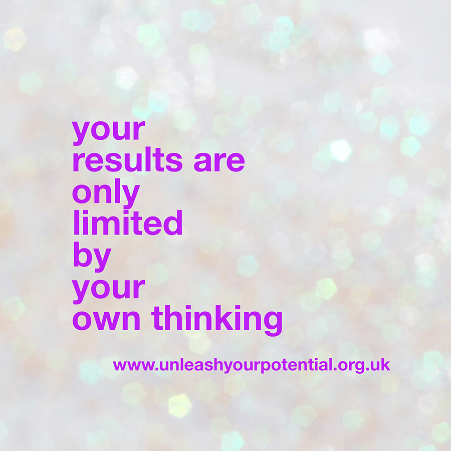What's holding you back – do you have a limiting belief?