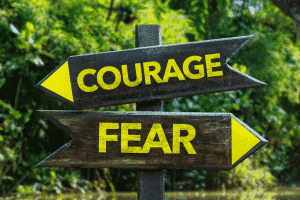 courage over fear NLP blog unleash your potential leadership