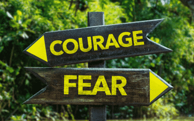 Courage or Fear – the choice is yours …