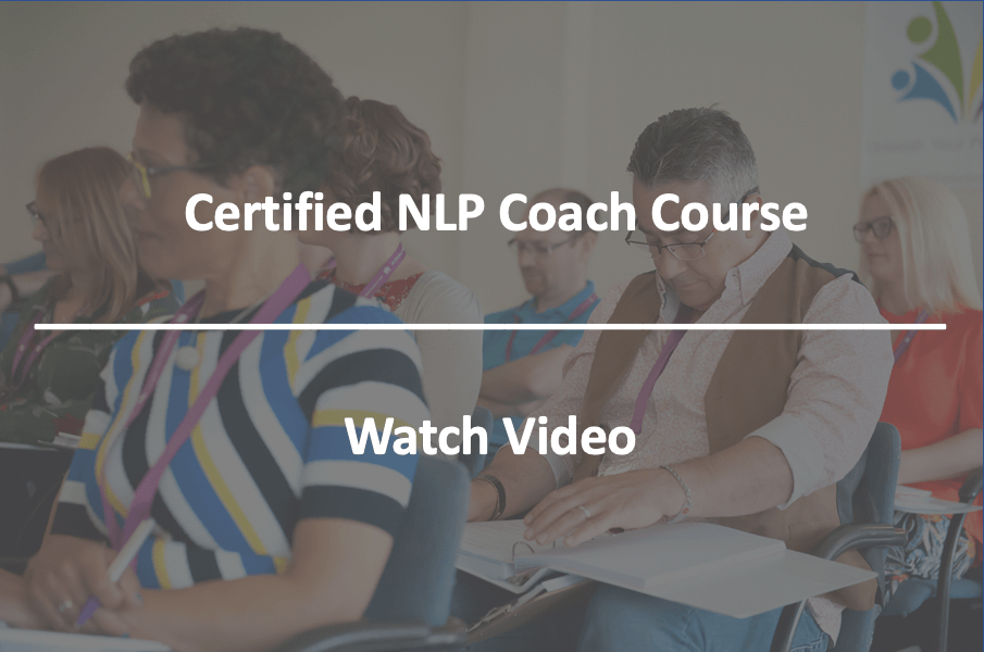 The Certified NLP Coach Course