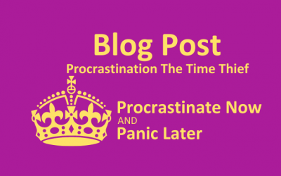 Procrastination – the thief of time?