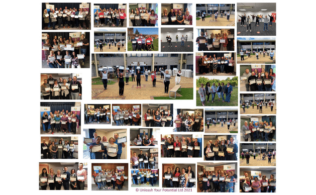 NLP training courses in cardiff students graduation photos