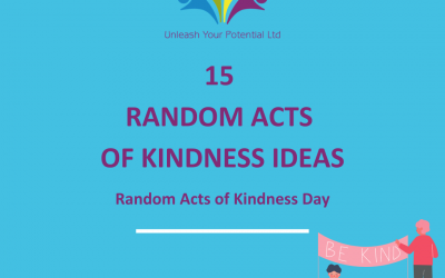 Random Acts of Kindness can improve your life!