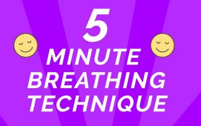 Learn this calming breathing technique in less than 5 Minutes!