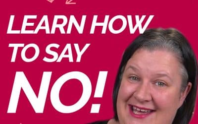 Learn how to say NO without feeling guilty