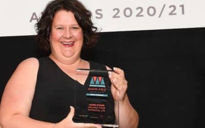 'a leading light in showing other women it's possible!' – Winner of Welsh Business Woman of the Year 2020/21