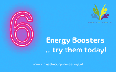 Energy Boosters … try these today!